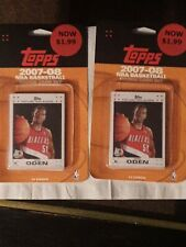 2 2007-08 TOPPS Basketball White Rookie Set Sealed Kevin Durant psa10 bgs ? Rc