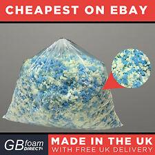 10kg Ultimate Bean Bag Stuffing | Memory Foam Mix 50/50 | Cushion Pillow Filling