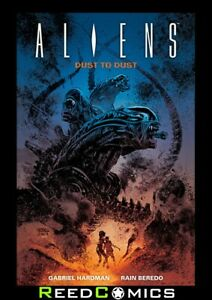 ALIENS DUST TO DUST GRAPHIC NOVEL New Paperback Collects 4 Part Series
