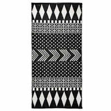 Handgewebte Wohnraum-Teppiche mit geometrischem Muster aus 100% Baumwolle