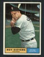1961 Topps #470 Roy Sievers NM/NM+ White Sox 73356