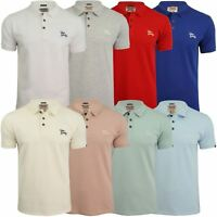 Mens Stretch Pique Polo T-Shirt by Tokyo Laundry 'Roseville'