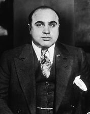 American Gangster Mobster AL CAPONE Glossy 8x10 Photo Criminal Glossy Poster