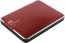 Western Digital My Passport Ultra (Red, 500 GB) WDBLNP5000ARD with Cable