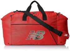 New Balance 157196 Unisex Athletic & Fitness Red Duffle Bag