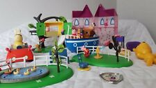 PEPPA PIG BUNDLE Casa PLAYGROUND barco figuras JOBLOT Treehouse Playset