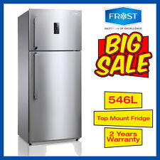 Frost Top Mount Freezer Fridge 546L Stainless not Samsung LG Westinghouse