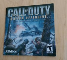 Call of Duty: United Offensive PC Computer  Video Game Activision Shooter Teen
