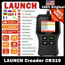 LAUNCH OBD2 Scanner CR319 Vehicle OBD Code Reader Check Automotive Engine Light