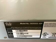 Cisco SG500X-48P-K9 - 48 Port PoE+ Stackable Managed Switch