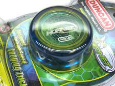 Duncan Hornet Looping Intermediate Yo-yo - Transparent Blue Yellow Green