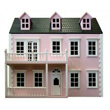 DOLLS HOUSE -12TH SCALE -   PINK - READY PAINTED GLENSIDE