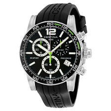 Certina DS Sport Chronograph Black Rubber Mens Watch C027.417.17.057.01