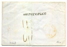 NED  EGYPT LANGST = OOLTGENSPLAAT = 1859   BRIEF  VW PR EX