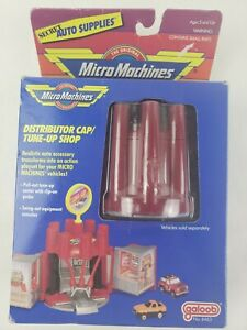 Micro Machines Distributor Cap Tune Up Shop Galoob 1989 Sealed 6463