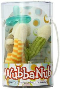 WubbaNub Infant Dummy and Soft Toy, Mango Monkey by Mary Meyer