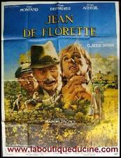 JEAN DE FLORETTE Affiche Cinéma / Movie Poster PAGNOL DEPARDIEU MONTAND 160x120