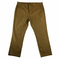 Old Navy Men's Chino Pants Ultimate Slim Size 40 x 30 Khaki Flat Front