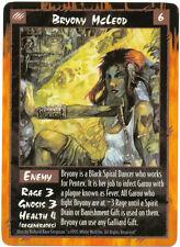 Bryony McLeod Rage CCG TCG Promo Card Werewolf the Apocalypse White Wolf