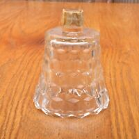 Vintage Clear Glass Whitehall Pattern Candle Stick Votive Adapter