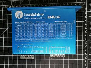 Leadshine Digital Stepping drive EM806 24-80V 0.35-6A Sensorless Stall Detection