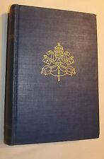 Principles For Peace Papal Documents Leo XIII/Pius XII 1943 Stritch Imprimatur