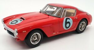 CMC 1/18 Scale CMC M-046 - 1961 Ferrari 250 GT SWB Competition #6 - Red