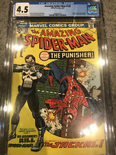 The Amazing Spider-Man 129 CGC 4.5 1st Appearance of The Punisher!