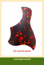 Acoustic Guitar Pickguard AntiScratch Self-adhesive Scratch Plate Multicolor
