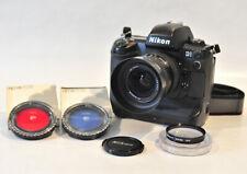 Nikon D1 Digital Camera Nikon AF 28-70mm lens Sigma Macro lens