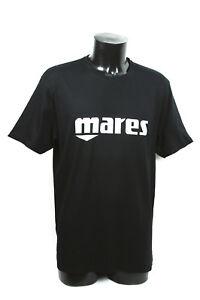 Mares Camiseta Logo Talla S XL Negro O Azul