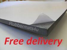 1 Self adhesive Grey Medium Density Closed Cell PE foam sheet 1m x 300mm x 25mm