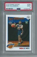 2019-20 Panini NBA Hoops Zion Williamson RC #296 PSA Mint 9