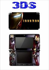 SKIN STICKER AUTOCOLLANT DECO POUR NINTENDO 3DS REF 162 IRON MAN