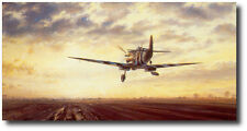 D-Day - A New Dawn for Europe by John Young - Spitfire - Aviation Art Prints