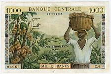 Billets de la banque française 1 000 francs