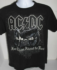 AC/DC For Those About To Rock T-shirt Medium 2006 Angus Young black