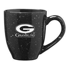 Grambling State University - 16-ounce Ceramic Coffee Mug - Black
