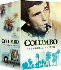 COLUMBO: THE COMPLETE SERIES- SEASONS 1-7 , DVD BOX SET, FREE SHIPPING, NEW.