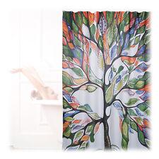 Duschvorhang Baum Motiv Badewannenvorhang Badvorhang 200x180cm Antischimmel bunt