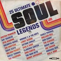 25 Ultimate Soul Legends - 25 Ultimate Soul Legends (NEW CD)