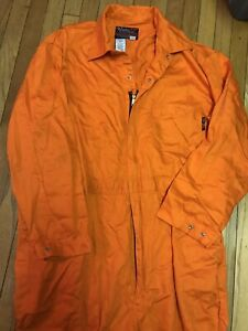 Walls FR 56 Tall Coveralls Bright Orange Work Wear Flame Resistant