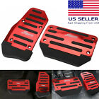 2pcs Universal Non-Slip Automatic Gas Brake Foot Pedal Pad Cover Car Accessories  for sale