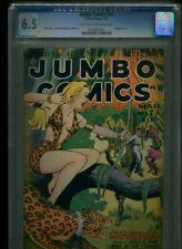 Jumbo Comics #73 Baker GGA Cover Bondage 1945 CGC 6.5 LT-OW Pages Sheena