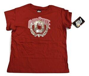 4th & 1 Youth Girls Ohio State Buckeyes Shirt New L, XL