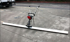 4 Stroke Concrete Surface Leveling Vibratory Screed & 8' Aluminum Tamper Blade