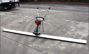 4 Stroke Concrete Surface Leveling Vibratory Screed & 8' Aluminum Tamper Blade