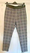 Check Slim Fit Trousers M&S Size 18