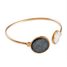 Fashion Women Ladies Crystal Rhinestone Gold/Silver Plated Bangle Cuff Bracelet
