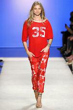 ISABEL MARANT runway tie-dye jeans trousers ITZEL pantaloni donna 40 FR 44 IT